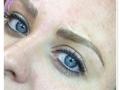 blue eye blading