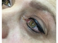 liner green eyes